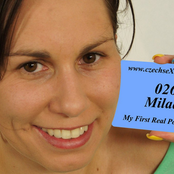 Sporty girl Milada and her first porn casting - Photo 1 / 16